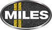 MILES – The Auto Spa Logo