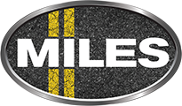 MILES – The Auto Spa Retina Logo